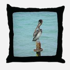 pelikan Throw Pillow