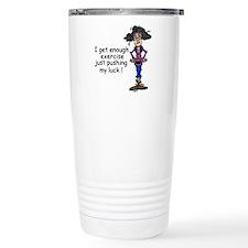 Exercise Humor Travel Mug