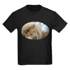 White lion sleeping T-Shirt