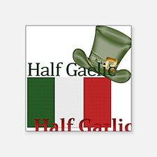 halfgaelichalfgarlichatandflag Sticker