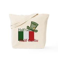 halfgaelichalfgarlichatandflag Tote Bag
