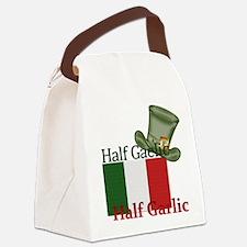 halfgaelichalfgarlichatandflag Canvas Lunch Bag