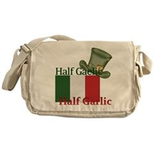 halfgaelichalfgarlichatandflag Messenger Bag