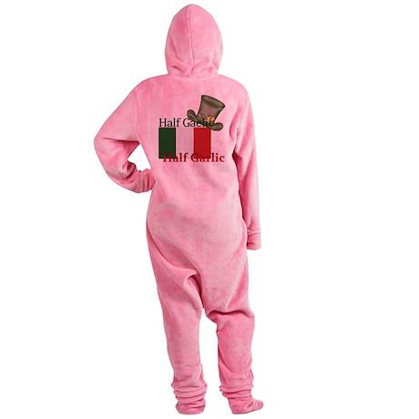 halfgaelichalfgarlichatandflag Footed Pajamas