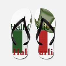 halfgaelichalfgarlichatandflag Flip Flops