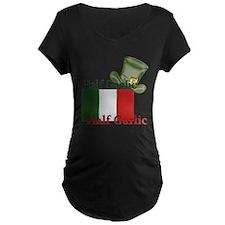 halfgaelichalfgarlichatandflag Maternity T-Shirt
