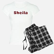 Sheila Santa Fur Pajamas