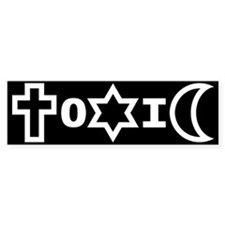 ToXiC Faith Logo Bumper Bumper Sticker