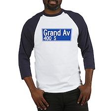 Grand Ave., Los Angeles - USA Baseball Jersey