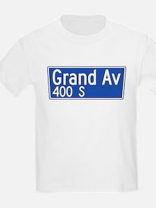 Grand Ave., Los Angeles - USA Kids T-Shirt
