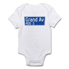 Grand Ave., Los Angeles - USA Infant Bodysuit