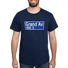 Grand Ave., Los Angeles - USA T-Shirt