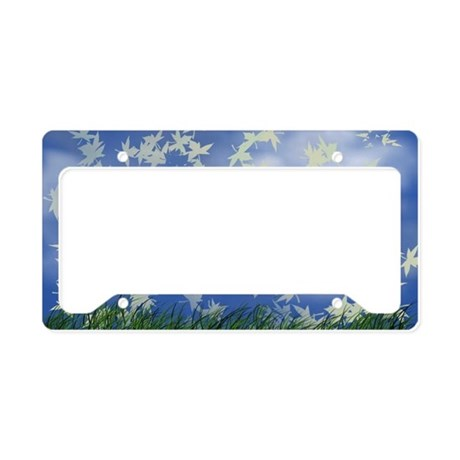 Live Buy the Wind License Plate Holder
