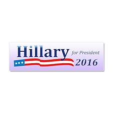 Hillary Clinton 2016 Car Magnet (Size 10 x 3)