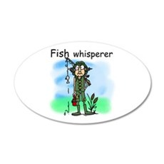Fish Whisperer Wall Decal