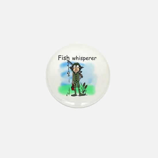 Fish Whisperer Mini Button