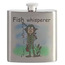 Fish Whisperer Flask