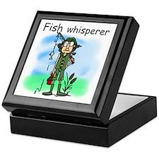 Fish Whisperer Keepsake Box