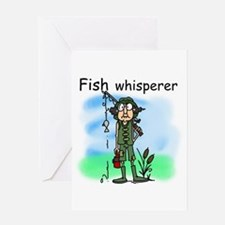 Fish Whisperer Greeting Card