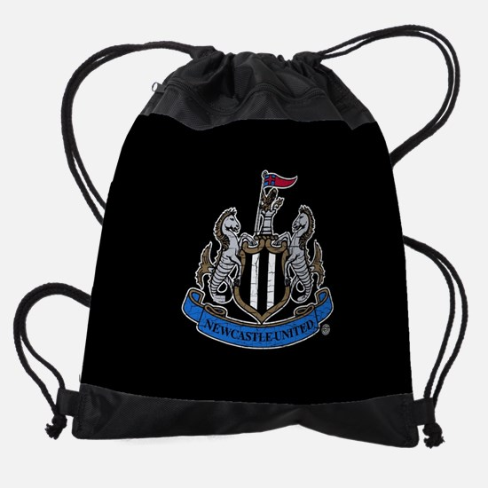 Vintage Newcastle United FC Crest Drawstring Bag