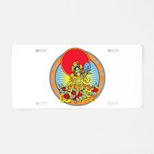 Green Tara Aluminum License Plate