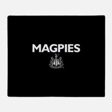 Magpies NUFC- Full Bleed Throw Blanket