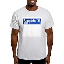 Alameda St., Los Angeles - USA Ash Grey T-Shirt