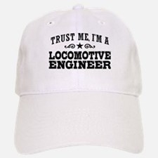 Locomotive Engineer Baseball Baseball Cap