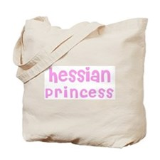 Hessian Princess Tote Bag