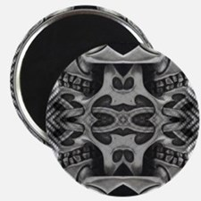 rock star metal skull decor Magnet