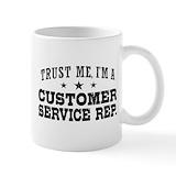 Customer service Standard Mugs (11 Oz)