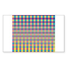 Colorful Squares Decal