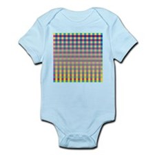 Colorful Squares Body Suit