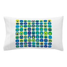 Crazy Colorful Tiles Pillow Case