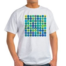 Crazy Colorful Tiles T-Shirt