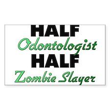 Half Odontologist Half Zombie Slayer Decal