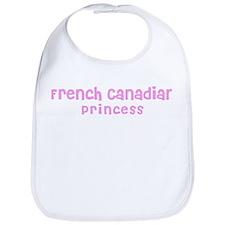 French Canadian Princess Bib