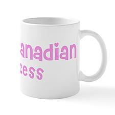 French Canadian Princess Small Mug