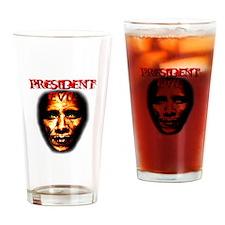 PRESIDENT EVIL Drinking Glass