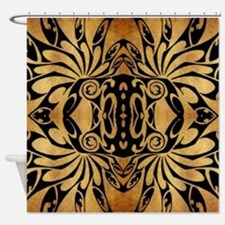 african primitive tribal  Shower Curtain