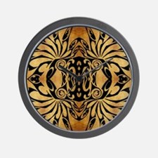 african primitive tribal  Wall Clock