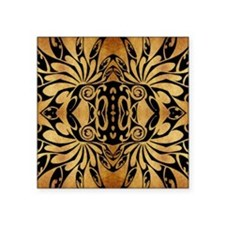 "african primitive tribal  Square Sticker 3"" x 3"""