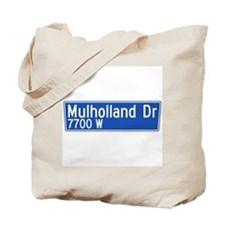 Mulholland Dr., Los Angeles - USA Tote Bag