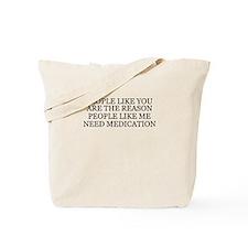 People Like You Tote Bag