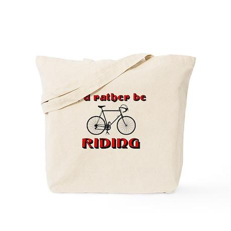 Bicycle Riding Tote Bag