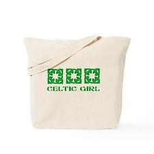 Cute Scottish girl Tote Bag