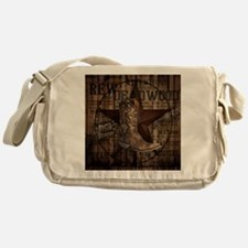 western cowboy Messenger Bag