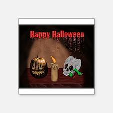 Happy Halloween Jack O Latern Sticker