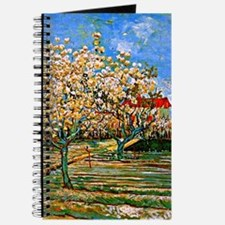 Van Gogh: Orchard in Blossom Journal