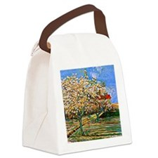 Van Gogh: Orchard in Blossom Canvas Lunch Bag